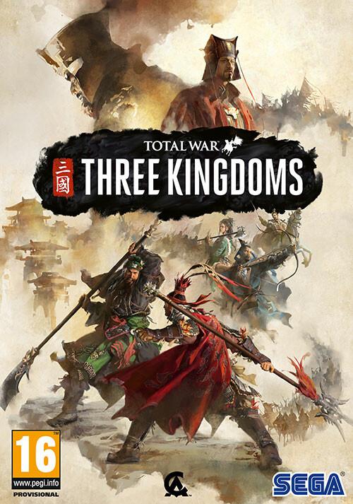 Total War: Three Kingdoms - Cover