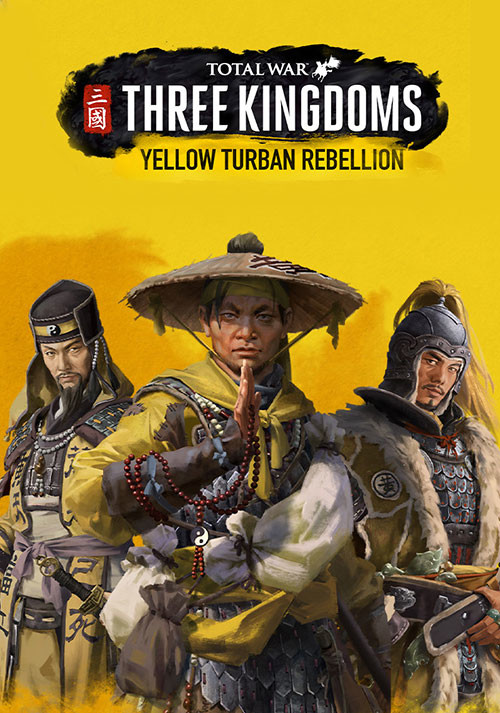 Total War: THREE KINGDOMS - Yellow Turban Rebellion - Cover / Packshot