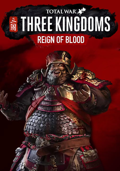 Total War: THREE KINGDOMS - Reign of Blood - Cover / Packshot