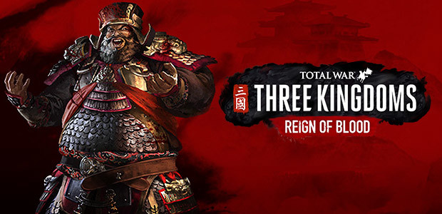 Total War: THREE KINGDOMS - Reign of Blood - Cover / Packshot