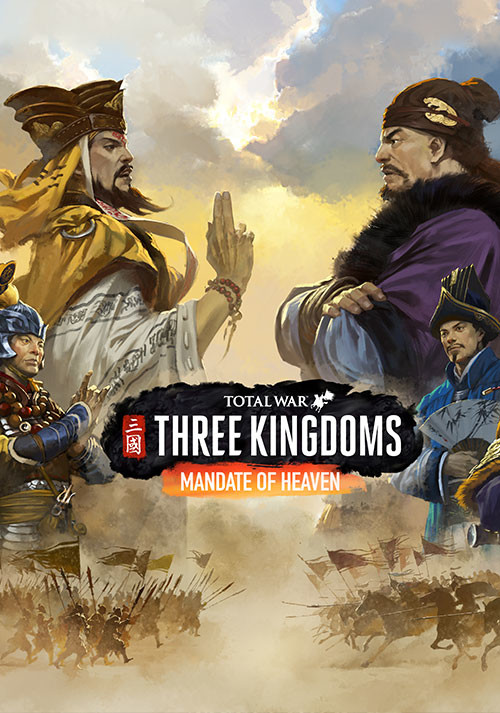 Total War: THREE KINGDOMS - Mandate of Heaven - Cover / Packshot