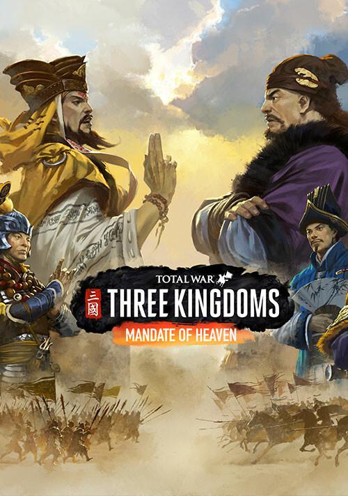 Total War: THREE KINGDOMS - Mandate of Heaven - Cover / Packshot