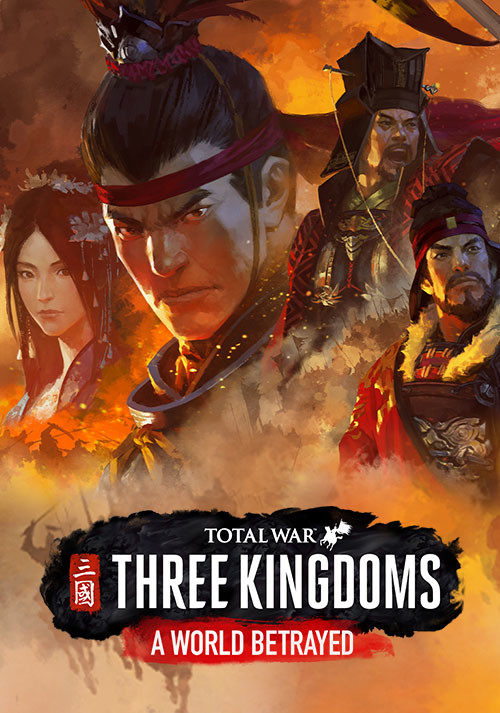 Total War: THREE KINGDOMS - A World Betrayed - Cover / Packshot