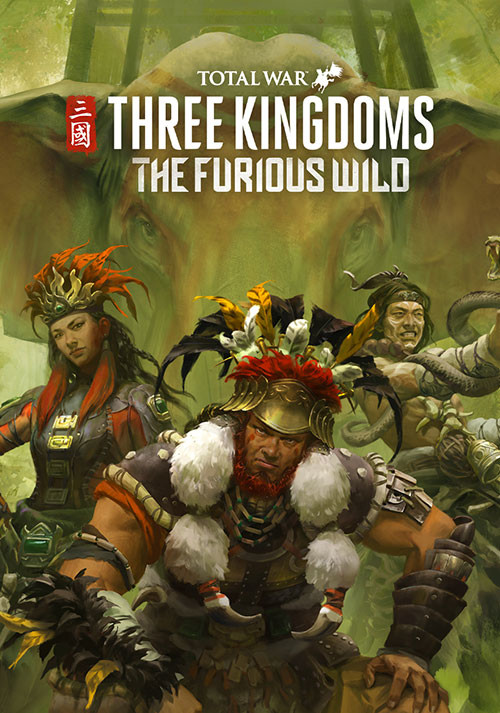 Total War: THREE KINGDOMS - The Furious Wild - Cover / Packshot