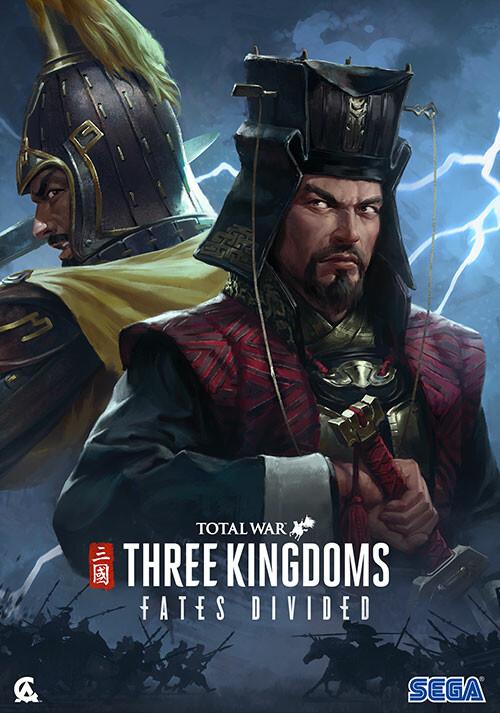 Total War: THREE KINGDOMS - Fates Divided - Cover / Packshot