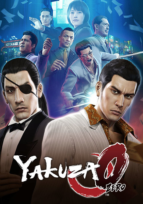 Yakuza 0 - Cover / Packshot