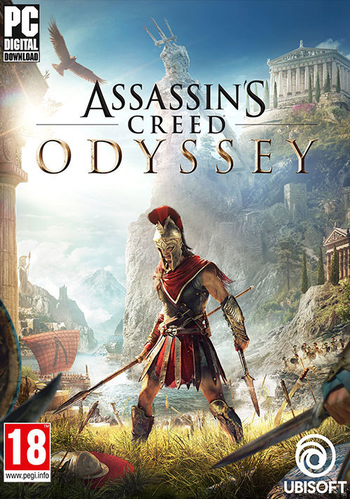 Assassin's Creed Odyssey - Cover