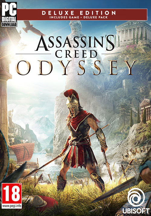 Assassin's Creed Odyssey - Deluxe Edition - Cover / Packshot