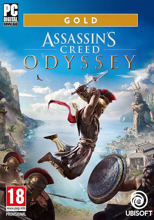 Assassin's Creed® Odyssey - Gold Edition - Packshot