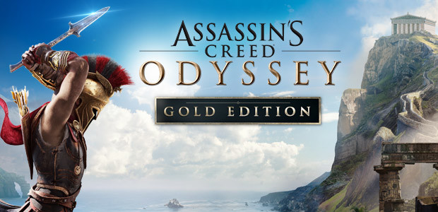 Assassin's Creed Odyssey - Gold Edition - Cover / Packshot