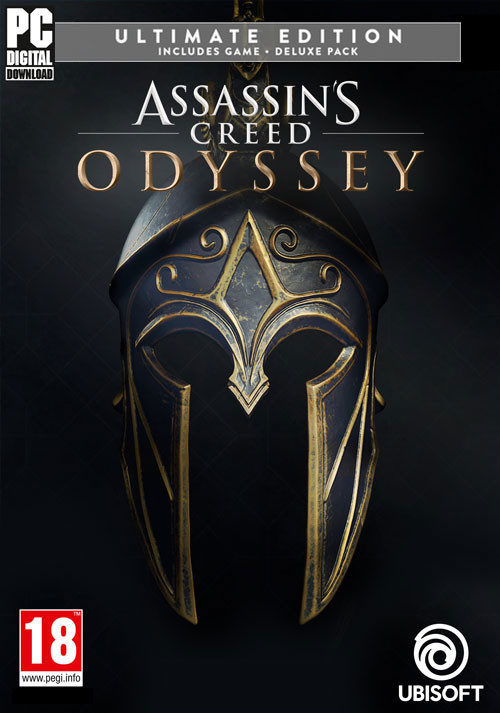 Assassin's Creed Odyssey - Ultimate Edition - Cover