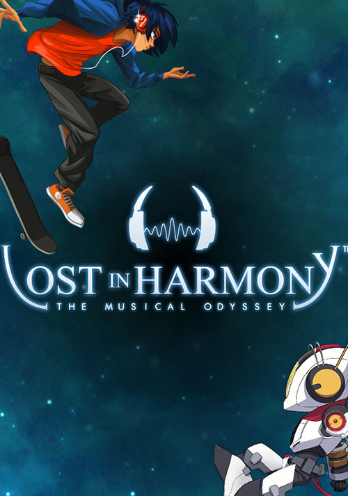 Lost in Harmony - Cover