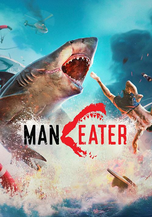 Maneater - Cover / Packshot