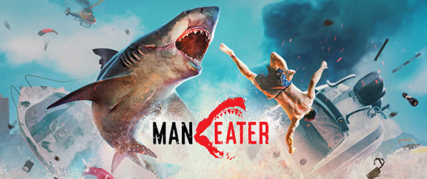 "Swim, dive, eat: Launch trailer for the ""shark"" game Maneater"