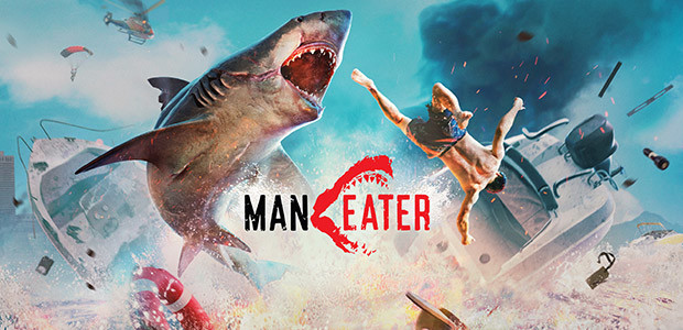 Maneater - Cover / Packshot