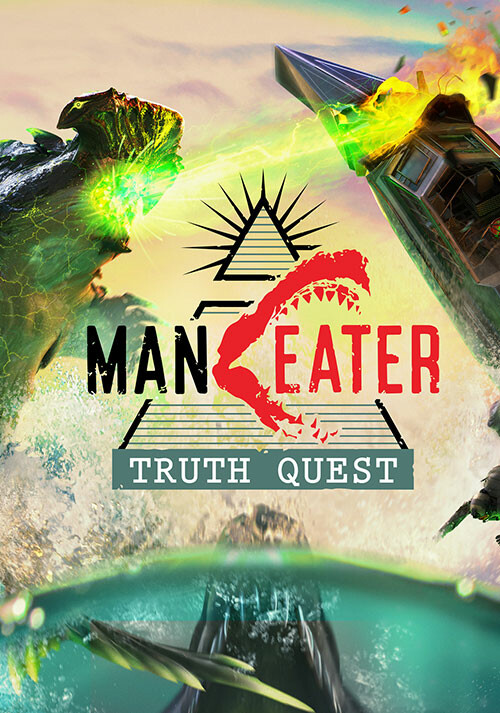 Maneater: Truth Quest - Cover / Packshot