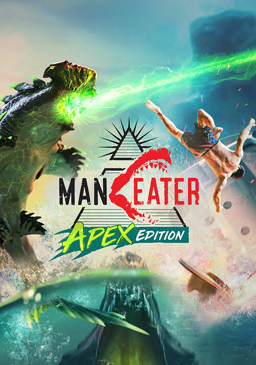 Maneater Apex Edition - Cover / Packshot