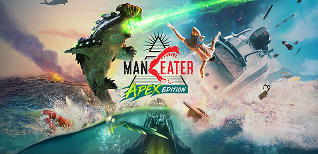 Maneater Apex Edition (Epic) - Cover / Packshot
