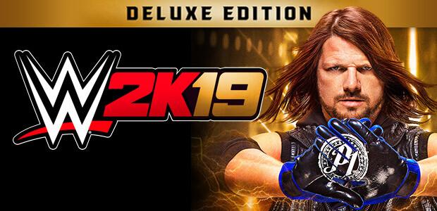 WWE 2K19 Digital Deluxe Edition - Cover / Packshot