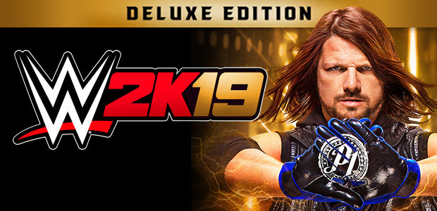WWE 2K19 Digital Deluxe Edition - Cover / Packshot