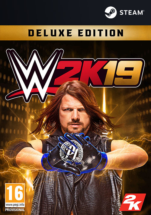 WWE 2K19 Digital Deluxe Edition - Cover