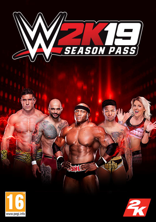 WWE 2K19 Season Pass - Cover / Packshot