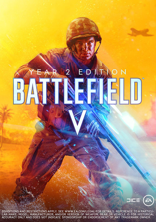 Battlefield V Year 2 Edition - The Pacific - Cover / Packshot