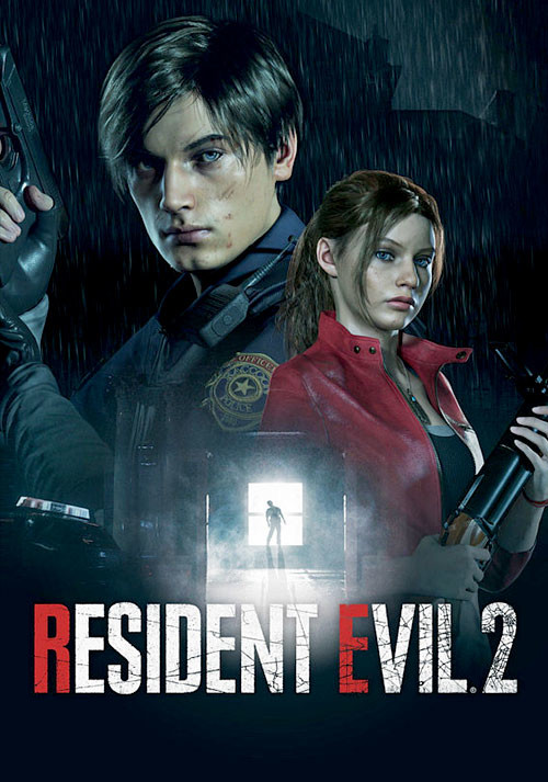 RESIDENT EVIL 2 / BIOHAZARD RE:2 - Cover / Packshot