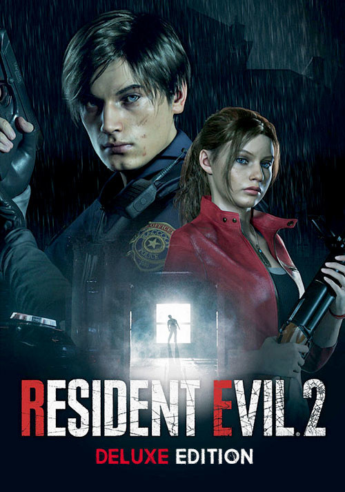 RESIDENT EVIL 2 / BIOHAZARD RE:2 Deluxe Edition - Cover / Packshot