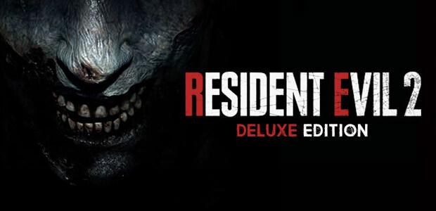 RESIDENT EVIL 2 / BIOHAZARD RE:2 Deluxe Edition - Cover / Packshot