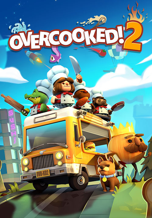 Overcooked! 2 - Cover