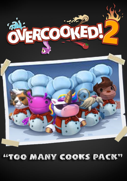 Overcooked! 2 - Too Many Cooks DLC - Cover
