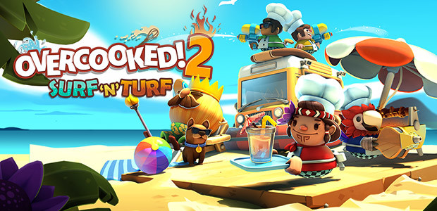 Overcooked! 2 - Surf 'n' Turf - Cover / Packshot