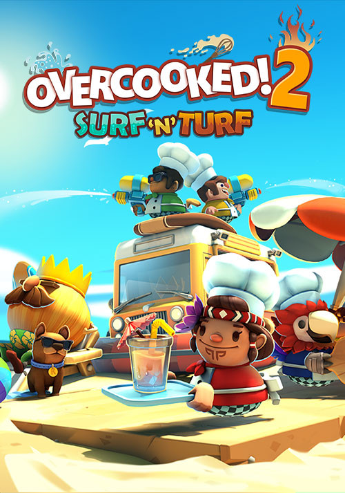 Overcooked! 2 - Surf 'n' Turf - Cover