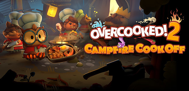 Overcooked! 2 - Campfire Cook Off - Cover / Packshot