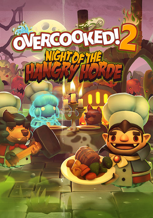 Overcooked! 2 - Night of the Hangry Horde - Cover