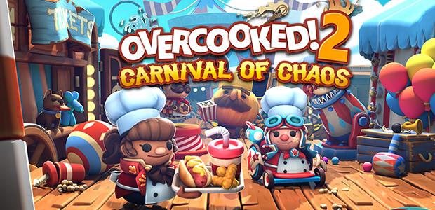 Overcooked! 2 - Carnival of Chaos - Cover / Packshot