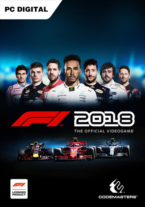 F1 2018 - Cover