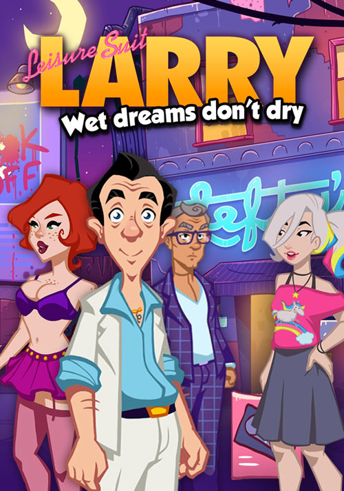 Leisure Suit Larry - Wet Dreams Don't Dry - Cover / Packshot