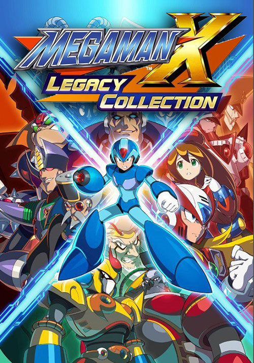 Mega Man X Legacy Collection - Cover