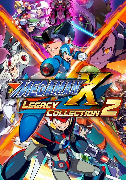 Mega Man X Legacy Collection 2 - Cover