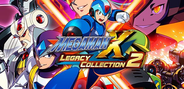 Mega Man X Legacy Collection 2 - Cover / Packshot