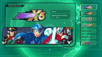 Screenshot1 - Mega Man X Legacy Collection 2