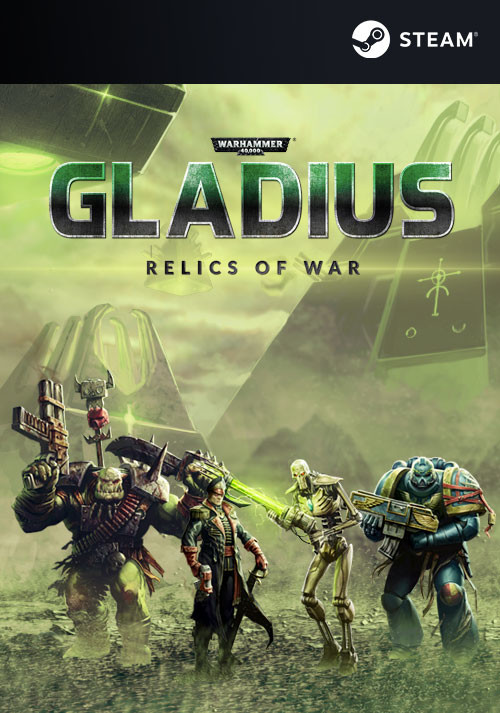 Warhammer 40,000: Gladius - Relics of War - Cover