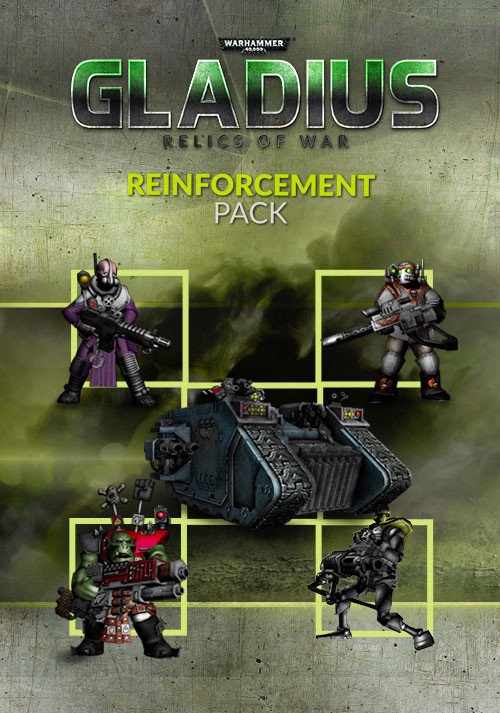 Warhammer 40,000: Gladius - Reinforcement Pack (GOG) - Cover / Packshot