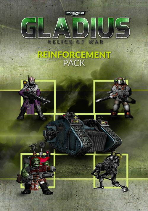 Warhammer 40,000: Gladius - Reinforcement Pack (GOG) - Cover / Packshot