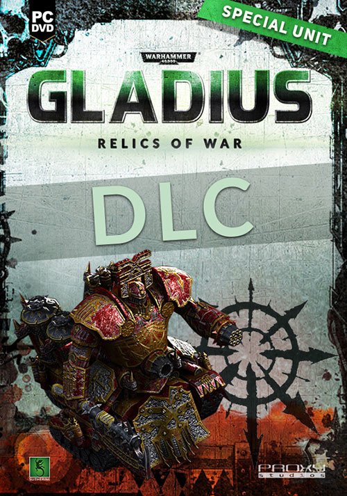Warhammer 40,000: Gladius - Relics of War - Lord of Skulls (GOG) - Cover / Packshot
