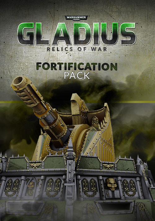 Warhammer 40,000: Gladius - Fortification Pack (GOG) - Cover / Packshot