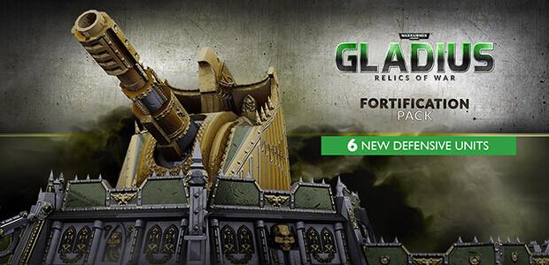 Warhammer 40,000: Gladius - Fortification Pack (GOG) - Cover / Packshot
