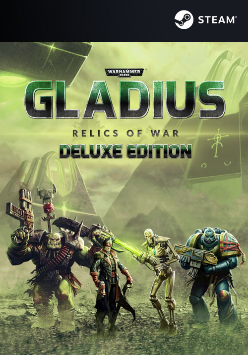 Warhammer 40,000: Gladius - Relics of War Deluxe - Cover / Packshot